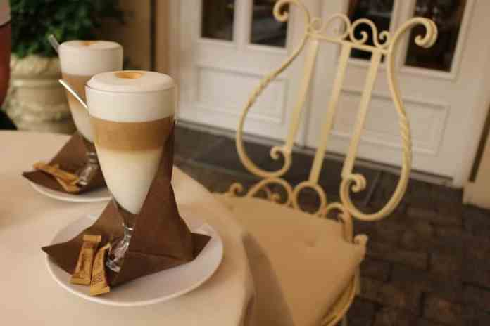 latte coffee flat white two romantic old fashioned