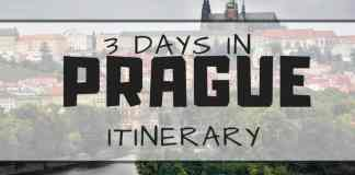 3 days in Prague itinerary