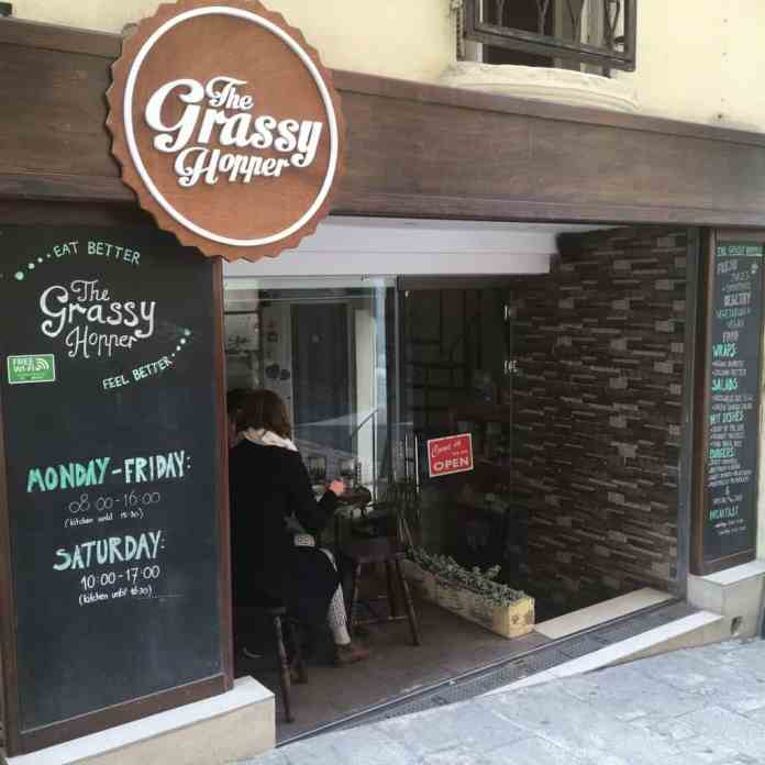 vegan food malta the grassy hopper