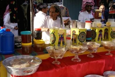 Asir ist für seinen guten Honig berühmt! Dieser wird meist in den Waben verkauft und ist megateuer.