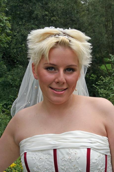 Brautfrisur diadem