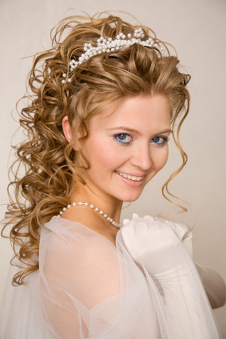 Brautfrisuren lange haare locken