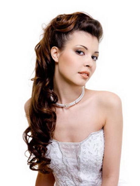 Brautfrisuren locken lange haare