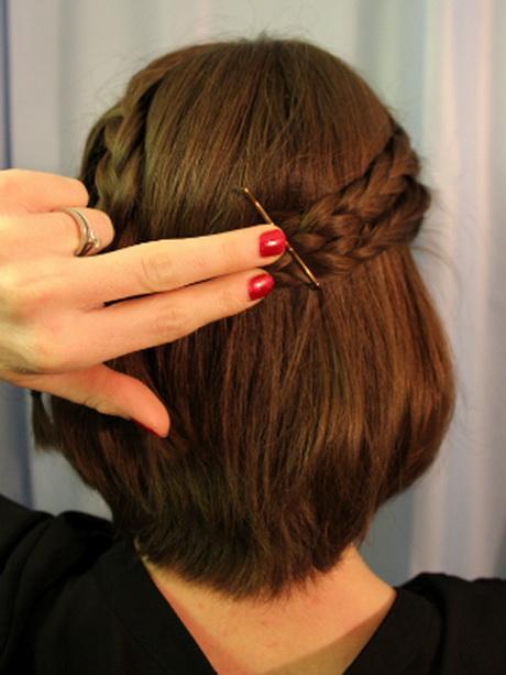 Einfache hochsteckfrisuren fr kurze haare