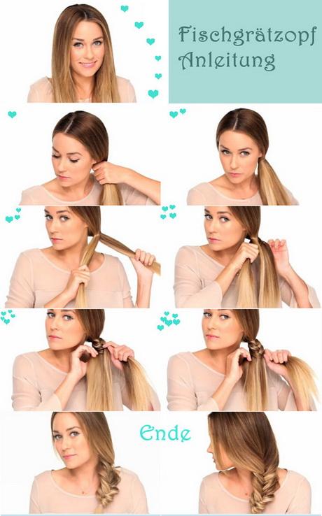 Einfache Zopf Frisuren