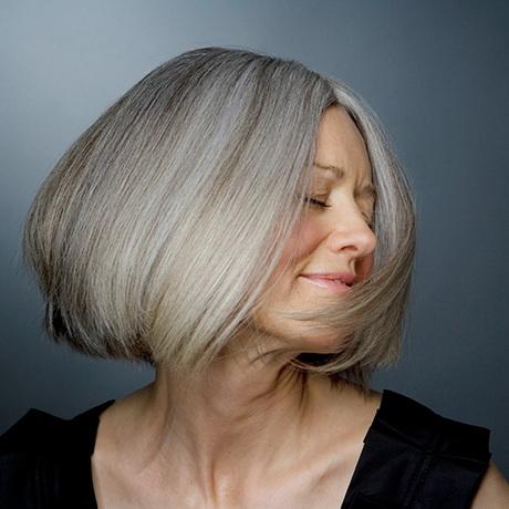 Graue haare strhnchen