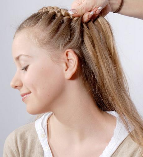 Frisuren Einfach Schnell