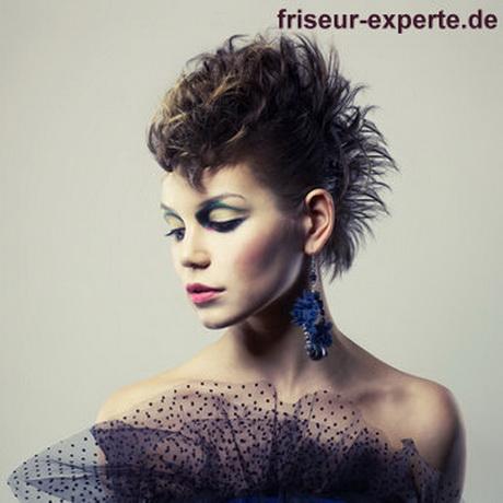 Frisuren Damen Punk  trendige kurzhaarfrisuren