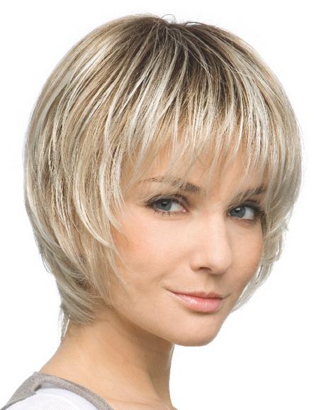 Stufiger haarschnitt