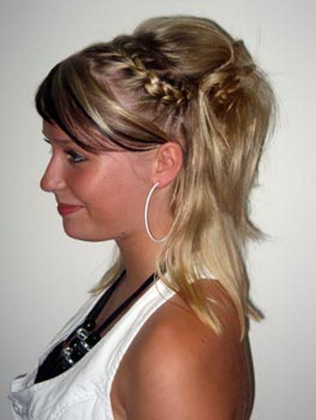 Hochsteckfrisuren fr halblanges haar