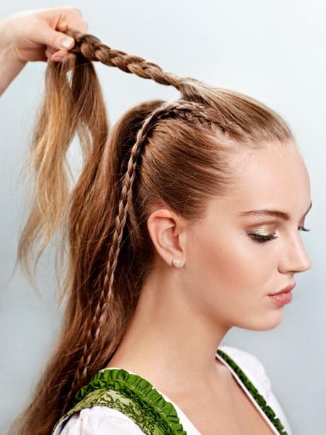 Dirndl Frisuren Offene Haare