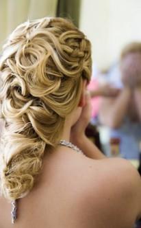 Hochzeitsfrisur zopf
