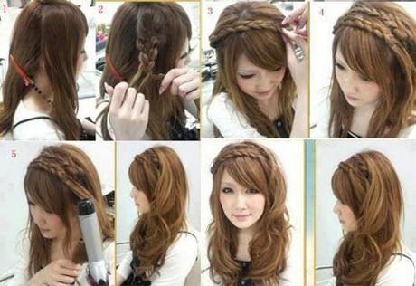 Schöne Schnelle Frisuren Für Lange Haare
