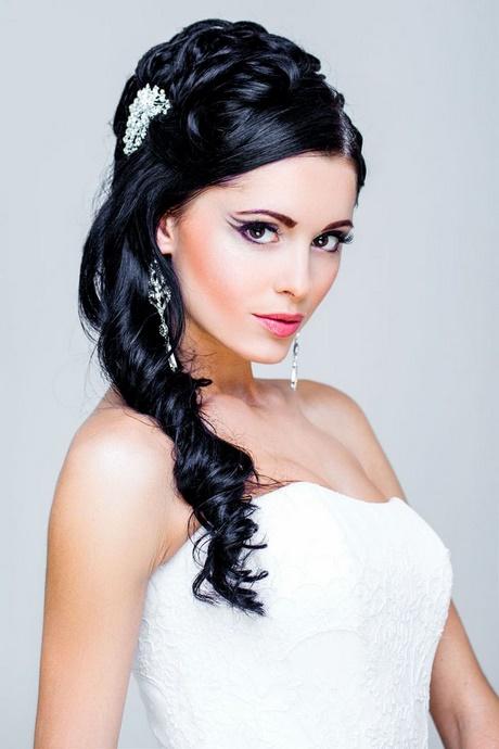 Brautfrisuren lange haare hochgesteckt