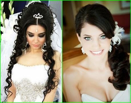 Hochzeitsfrisuren dunkle haare
