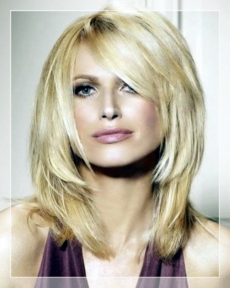 Frisuren Blond Mittellang 2017