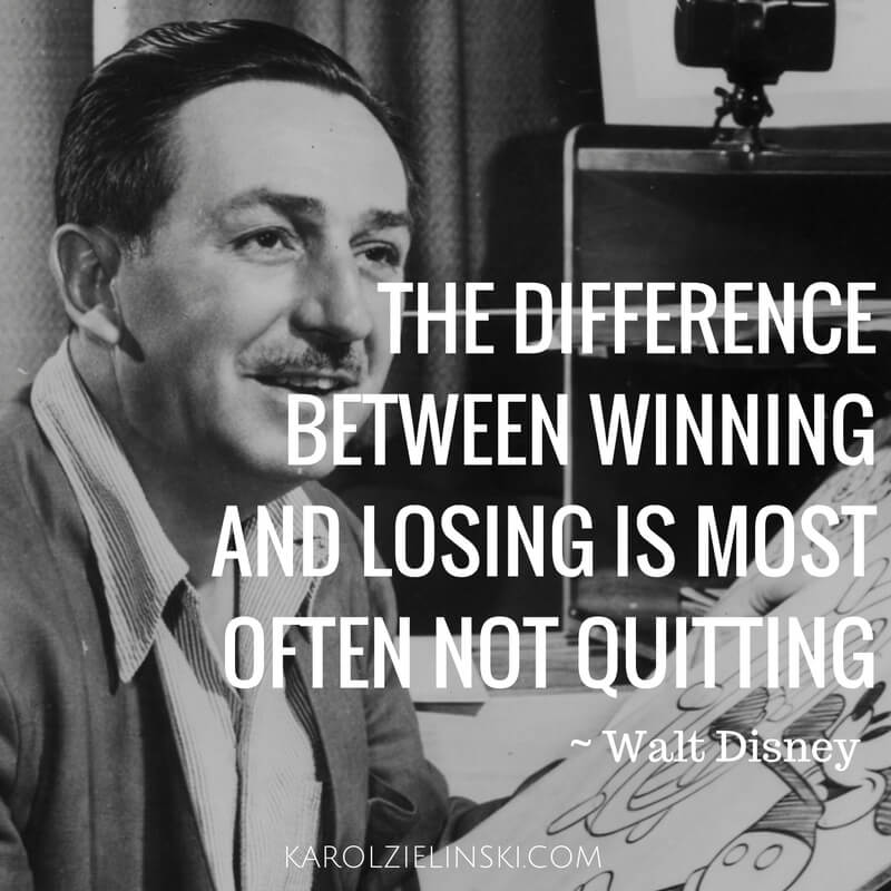 The difference between winning and losing is most often not quiting :: Biznes i Henry Ford