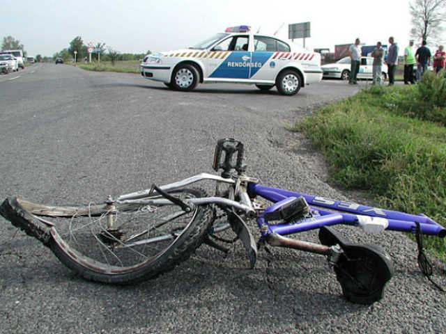 kerekparos baleset 01