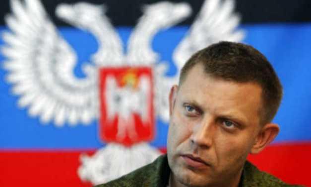 Meggyilkolták Olekszandr Zaharcsenko donyecki szakadár vezetőt