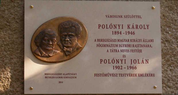Felavatták Polónyi Károly és Jolán emléktábláját