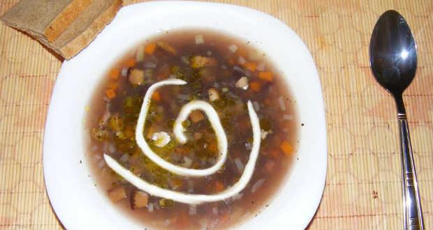 Sonkás-babos leves recept