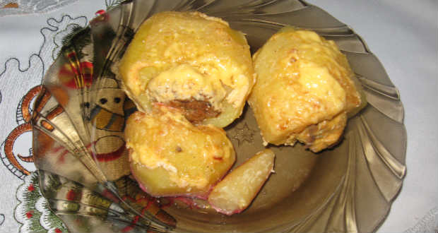 Töltött krumpli recept