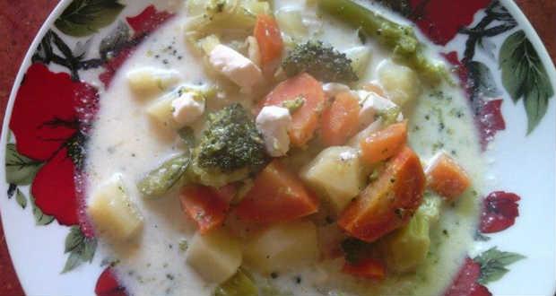Brokkolis zöldségragu recept