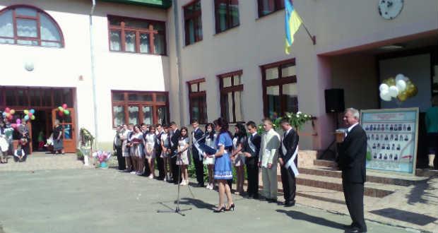 Ballagás a Tiszaújlaki Széchenyi István Középiskolában