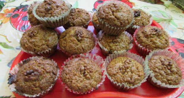 Diós muffin recept