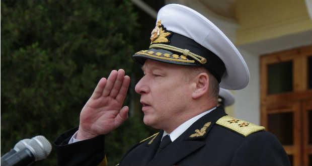 Ukrán tisztet neveztek ki a Balti Flotta élére