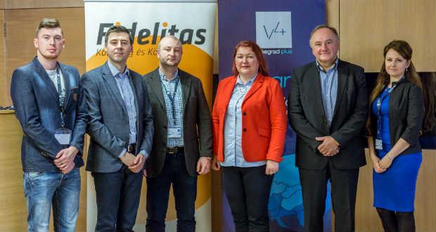 """,,Mi egy család vagyunk….""""  – KMKSZ ISZ a Visegrádi Nemzetközi Ifjúsági Konferencián"""