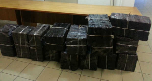 Több mint tízezer doboz cigaretta az ukrán vonatban