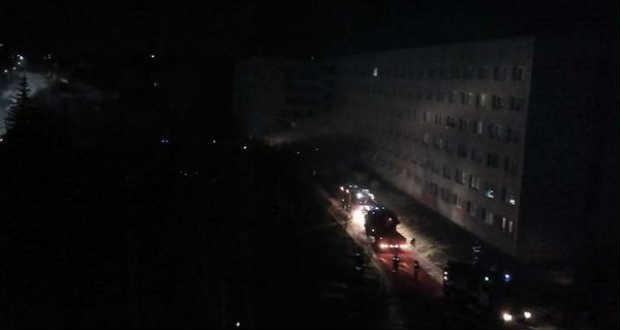 Tűz ütött ki az ungvári négyes kollégiumban