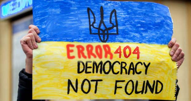 Az antidemokratikus Ukrajna