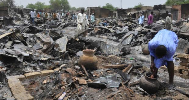 Összehangolt terrortámadás történt Nigériában