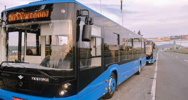Új buszok érkeztek Ungvárra