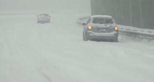 Hóviharok dúlnak az Egyesült Államok délkeleti vidékein