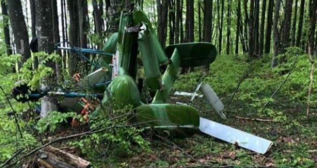Lezuhant egy helikopter az ukrán határ közelében