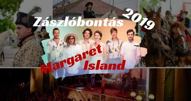 Zászlóbontás és Margaret Island koncert Beregszászban