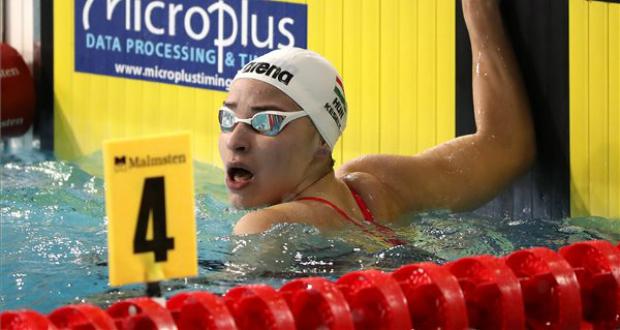 Késely Ajna bronzérmes 400 méter gyorson