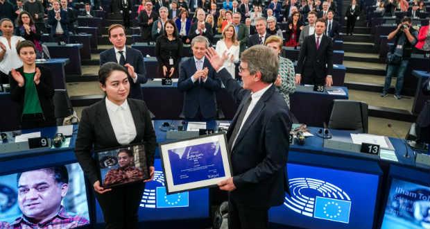 Átadták az Európai Parlament Szaharov-díját
