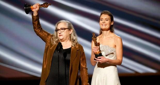 Ukrán producernő kapta a legjobb dokumentumfilmért járó Oscart