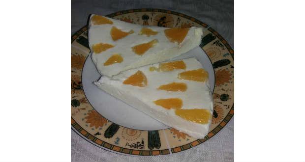 Narancsos-túrós desszert
