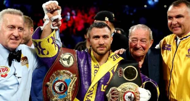 Vaszil Lomacsenko a világ legjobb bokszolója