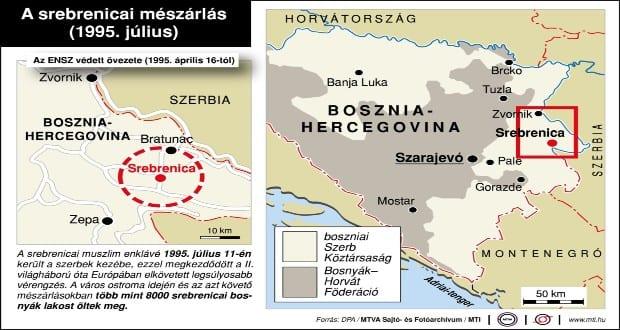 Huszonöt éve történt a srebrenicai mészárlás