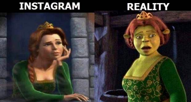 Instagram vs. Valóság