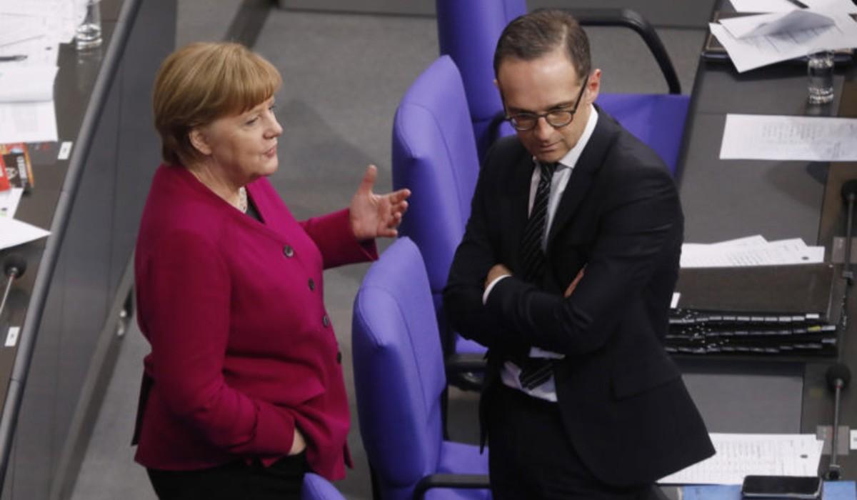 Merkel és Maas