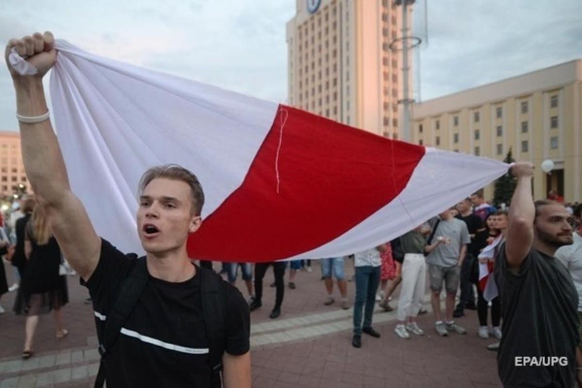 Könnygázzal oszlatják a tüntetőket Minszkben - Kárpátalja.ma