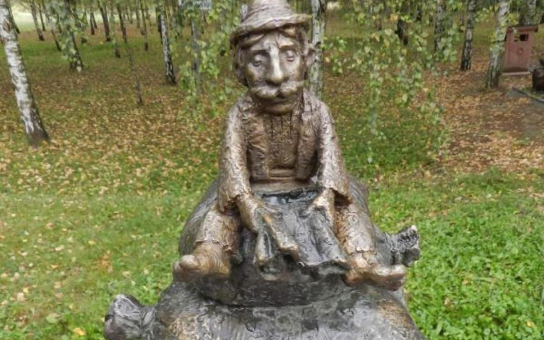 Kolodko-szobrok mutatják a kárpátaljai sóutat