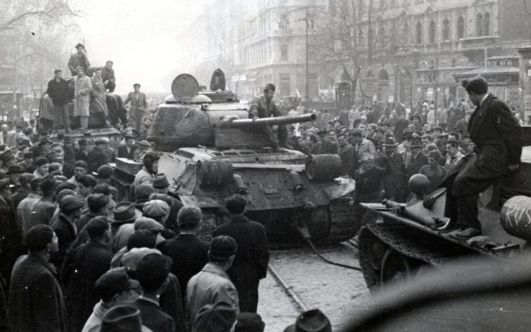 1956-ban az emberek kimondták, hogy elég volt a terrorból és a megfélemlítésből